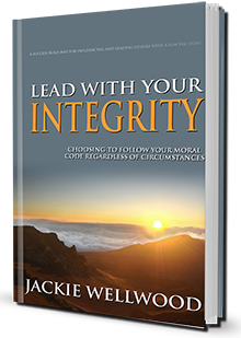Jackie Wellwood Author of Lead With Your Integrity and Life Coach to help you cope with stress